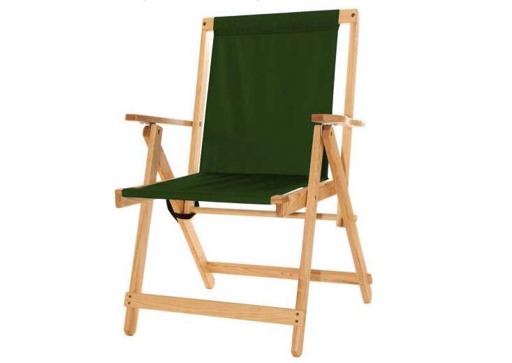 Folding Canvas Camp Chair Green Gardenista