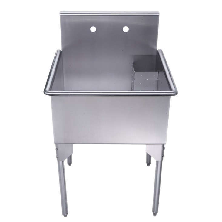 Freestanding Utility Sink Brushed Stainless Steel Gardenista