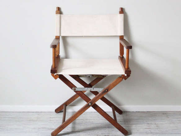 - Reserved Canvas Directors Chair