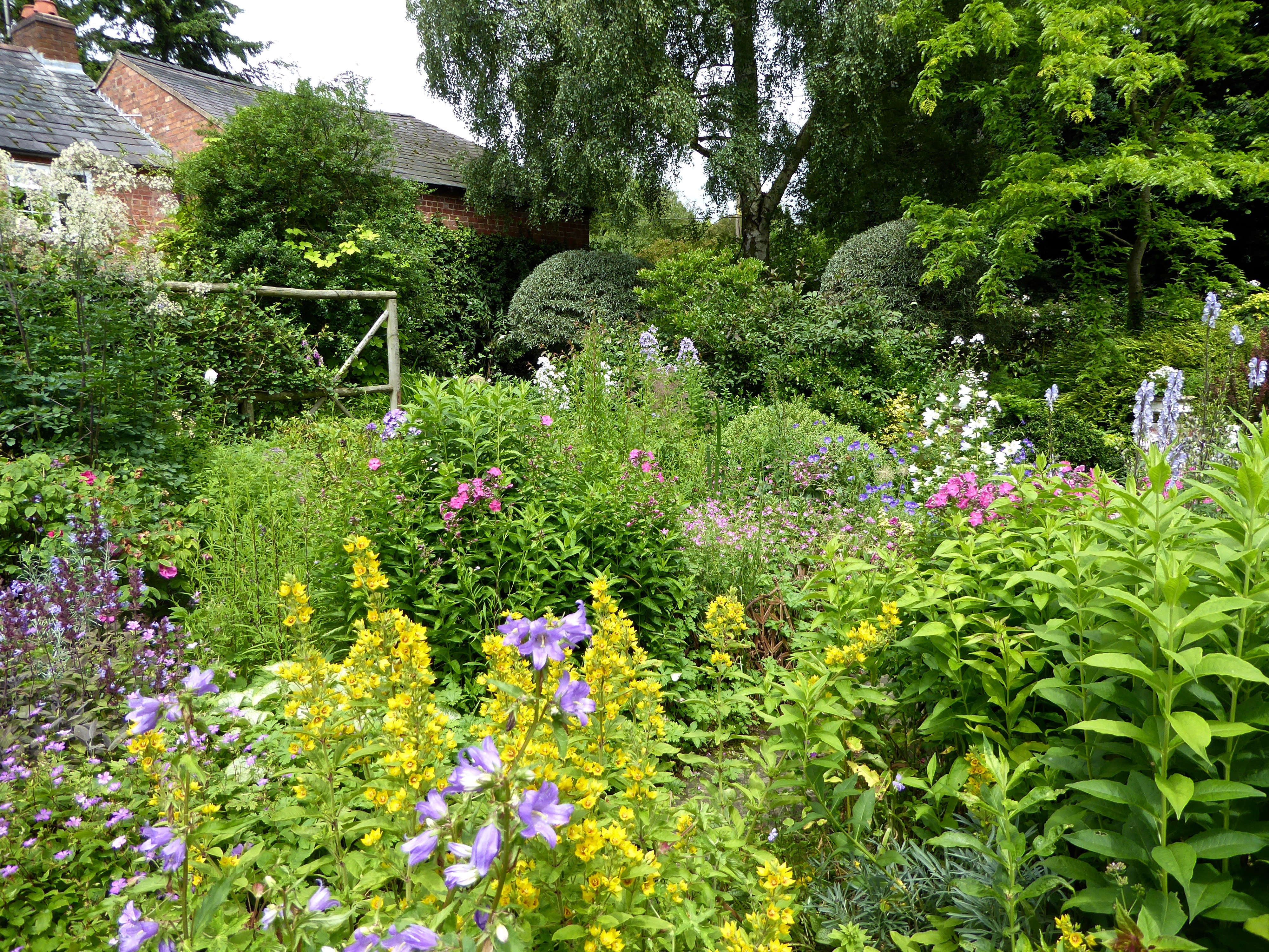 Above The Cottage Garden Close To House Has Gradually Become Less And Defined It Evolves Spectacularly Through Late Spring Summer
