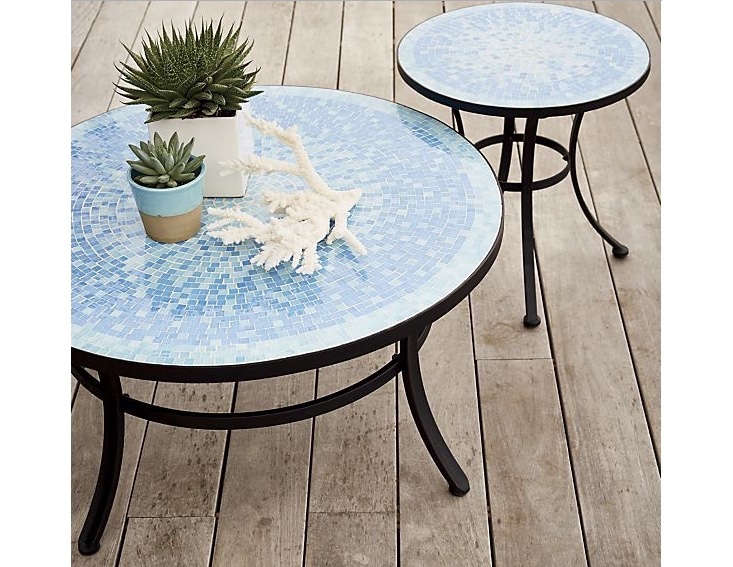 Fantastic 10 Easy Pieces Tile Coffee Tables Gardenista Ocoug Best Dining Table And Chair Ideas Images Ocougorg