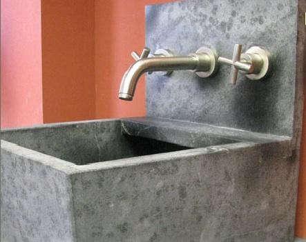 Wall Mount Utility Sink Soapstone Gardenista