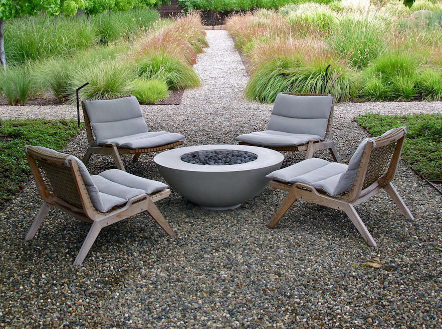 favorite furniture: sustainable teak from an italian designer ... - Designer Patio Furniture