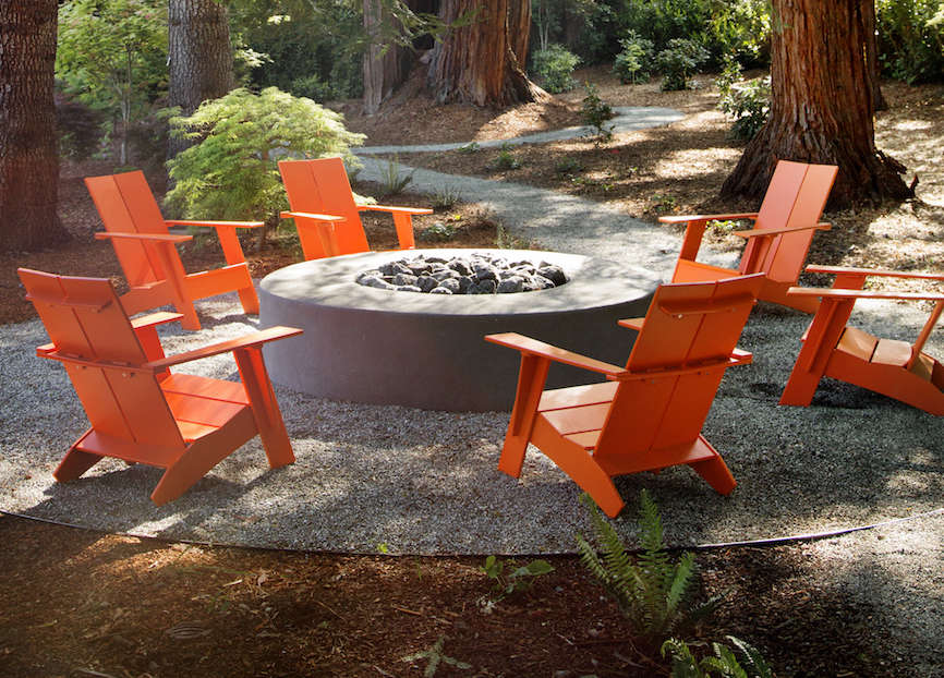 Outdoor Furniture Spotlight Colorful Recycled Designs from