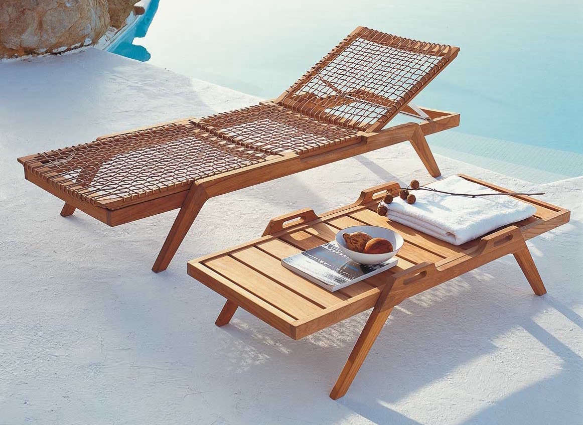 Teak Outdoor Furniture Synthesis From Unopiu / Serene From Henry Hall |  Gardenista