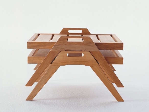 Synthesis Teak Rectangular Coffee Table With Handles 55 X  : Synthesis Outdoor Furniture Gardenista 28 584x438 from www.gardenista.com size 584 x 438 jpeg 133kB