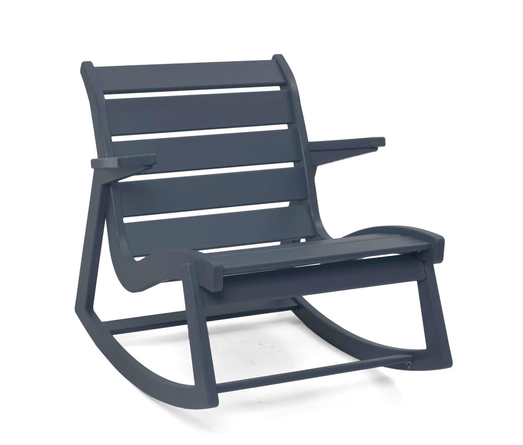 Rapson rocking chair low back