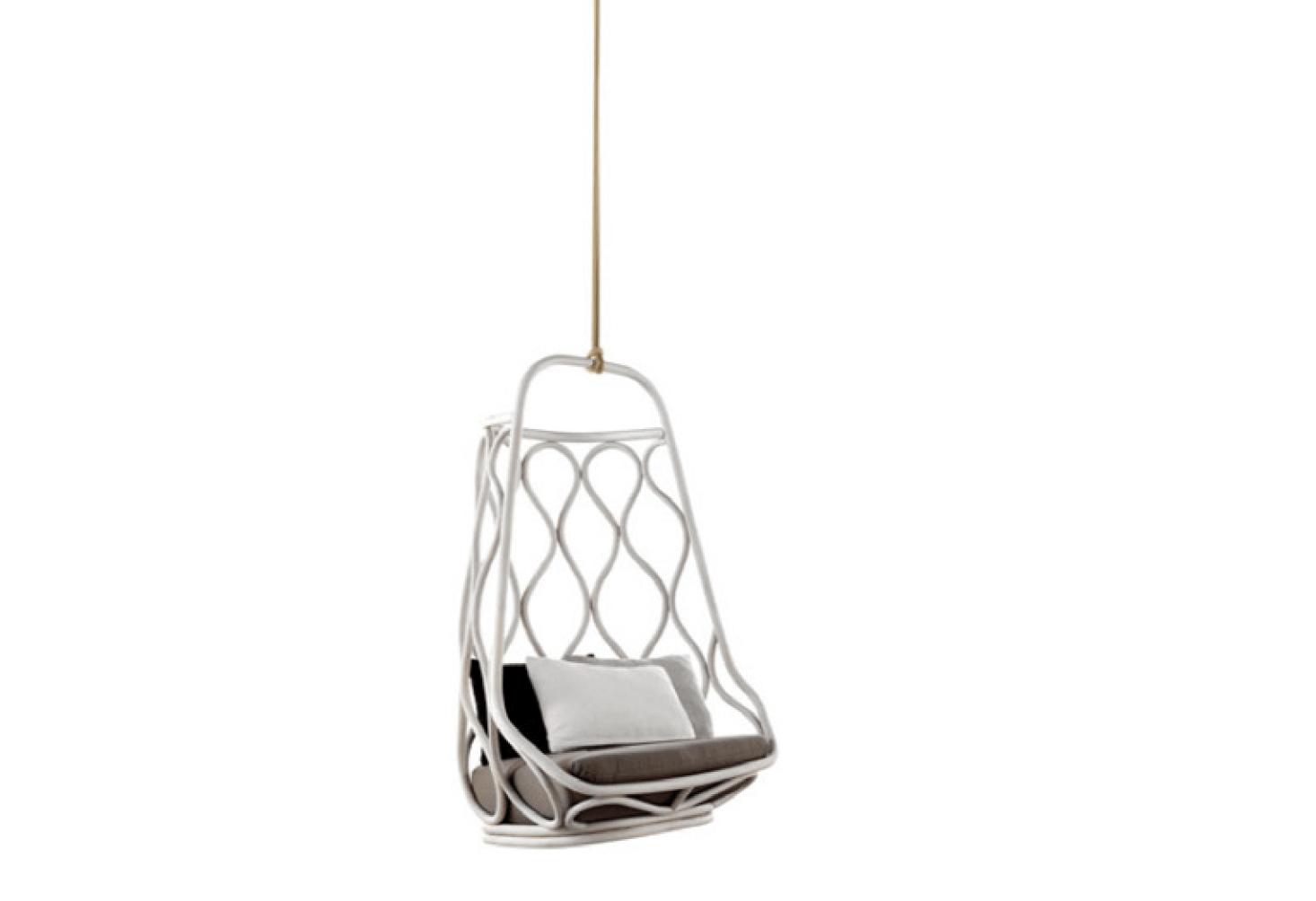Amazing 10 Easy Pieces Rattan Hanging Chairs Gardenista Machost Co Dining Chair Design Ideas Machostcouk