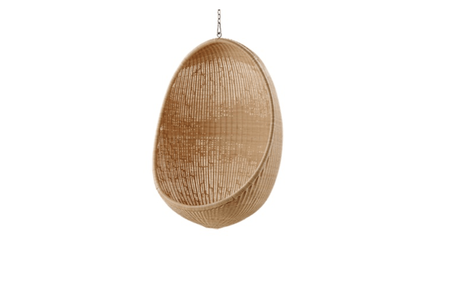 A Hanging Egg Chair By Sika Design Is 12,995 SEK ($1,546.40 USD) From  Artilleriet