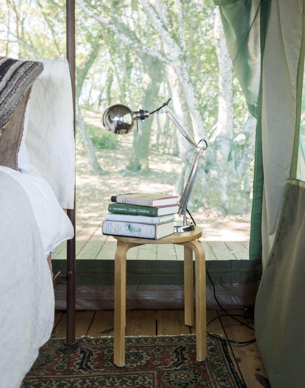 Gardenista Book Sneak Peek Glamping In Napa Gardenista