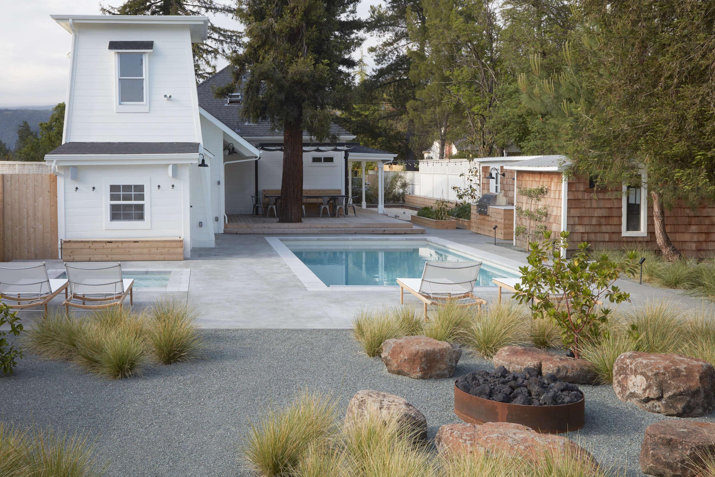 Backyard Architect Part - 42: Landscape Architect Visit: Terremoto Creates Serenity In Sonoma