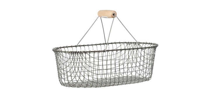 10 Easy Pieces Wire Harvest Baskets Gardenista