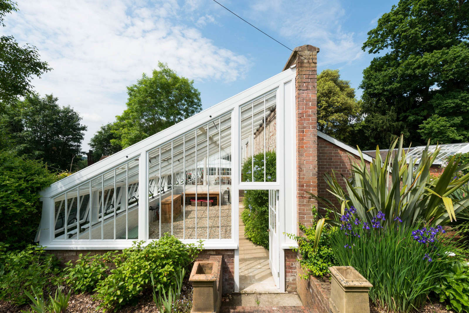 Rescued From Ruin A 19th Century Greenhouse Becomes Modern