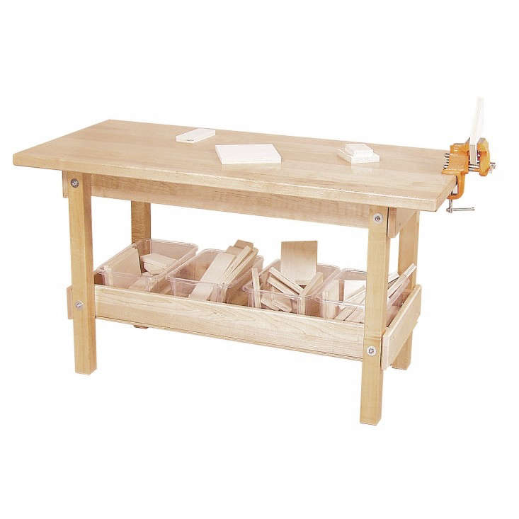 Fine 10 Easy Pieces Wooden Workbenches Gardenista Caraccident5 Cool Chair Designs And Ideas Caraccident5Info