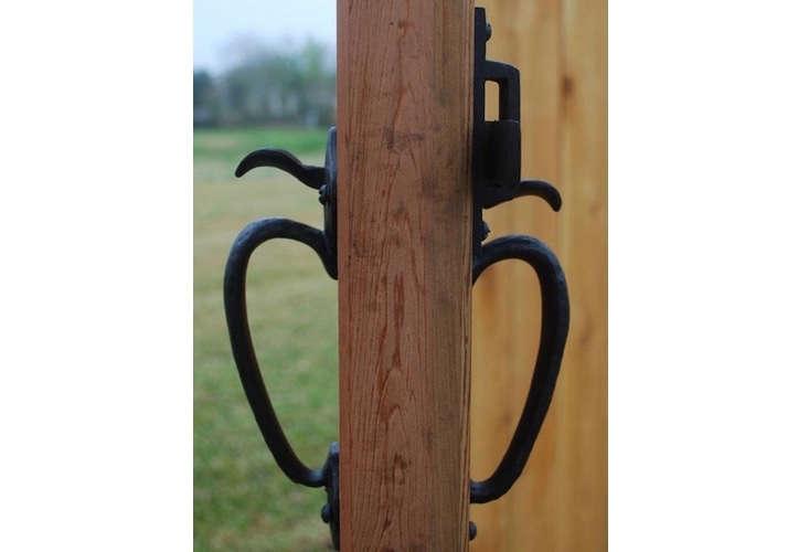 Garddog Locking Gravity Latch Two Sided Key Entry Gate Latches Boerboel Gate Solutions