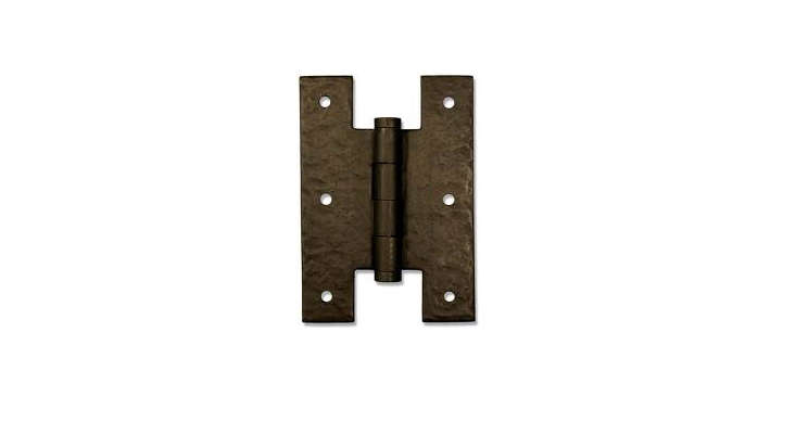 "Cranked Heavy Duty Hook /& Band Gate Hinges Black Shed Stable Door 8/"" 36/"""