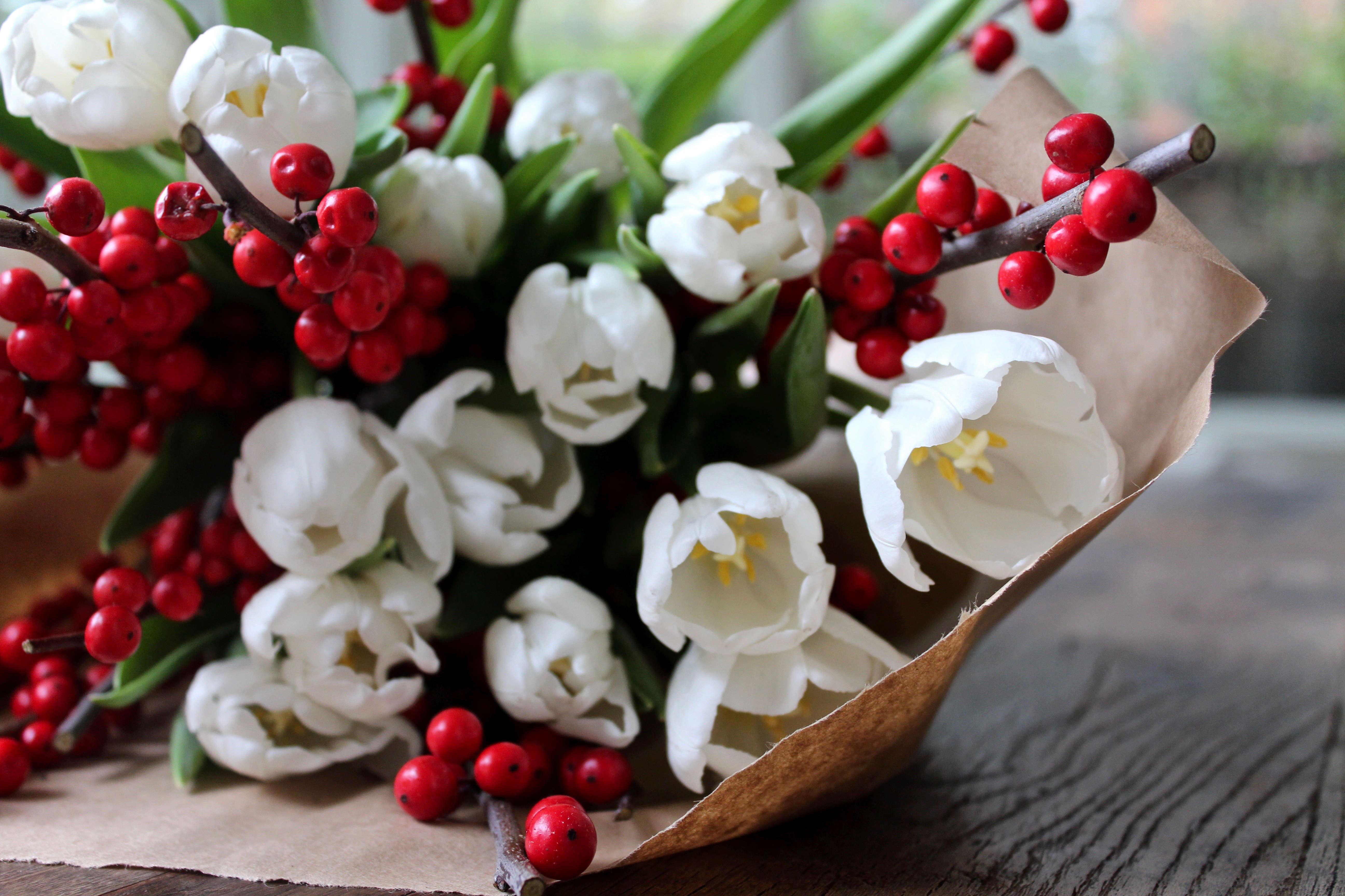 Trend Alert White Tulips On The Bulb For Christmas Gardenista