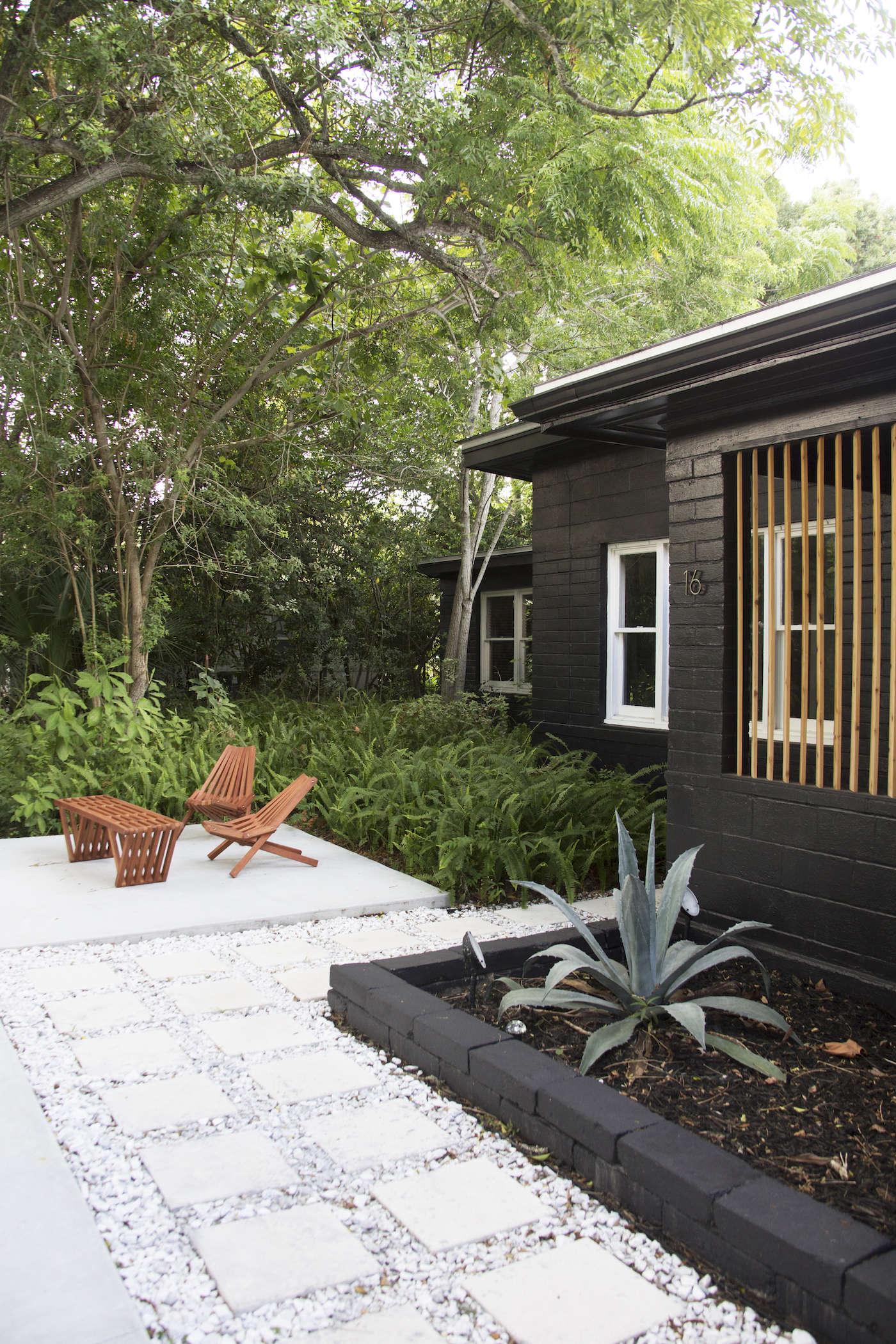 10 genius garden hacks with concrete - gardenista