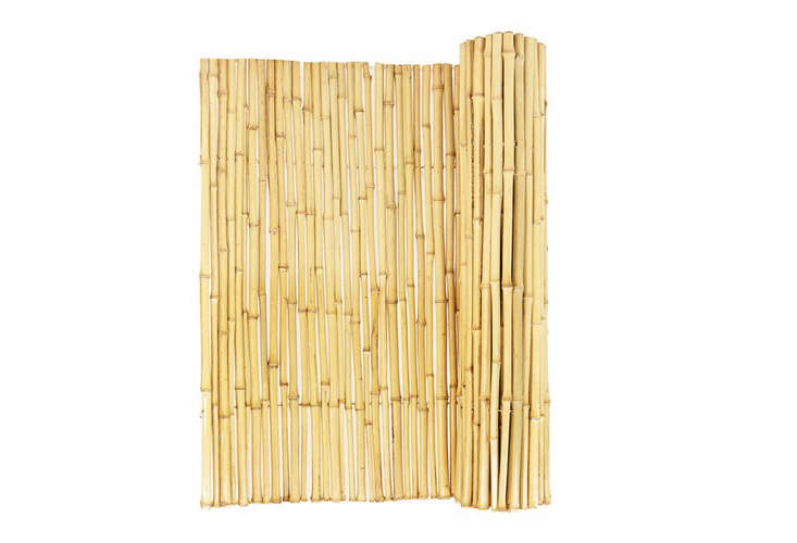 Mgp 60 In Tonkin Bamboo Roll Fence Bwf 60 The Home Depot Bamboo Fence Rolled Fencing Bamboo Decor