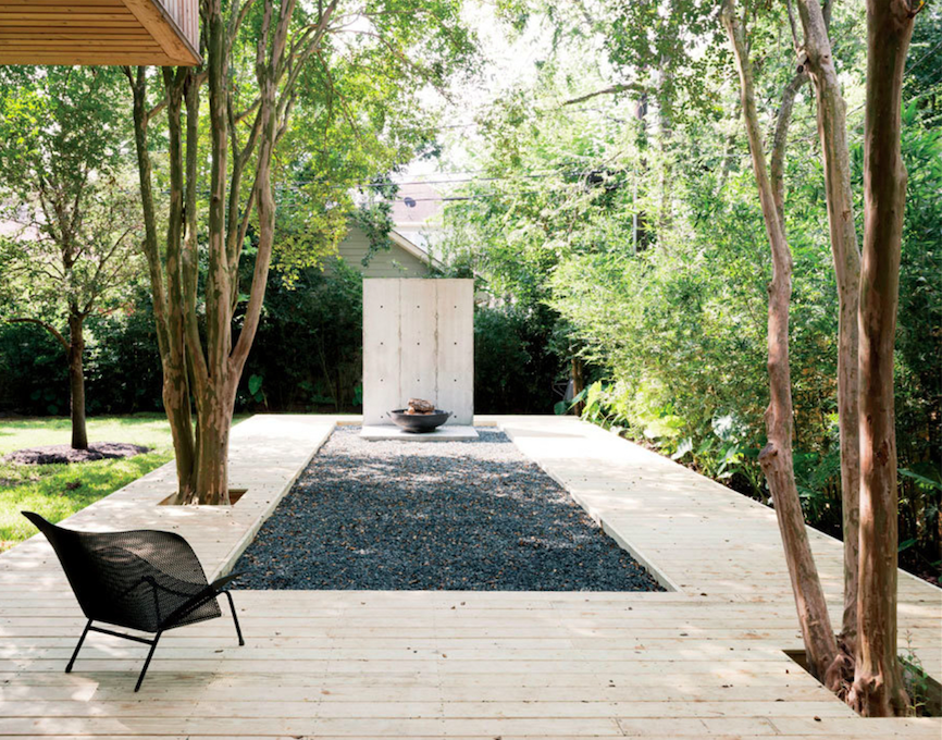robertson design gravel pit wood deck