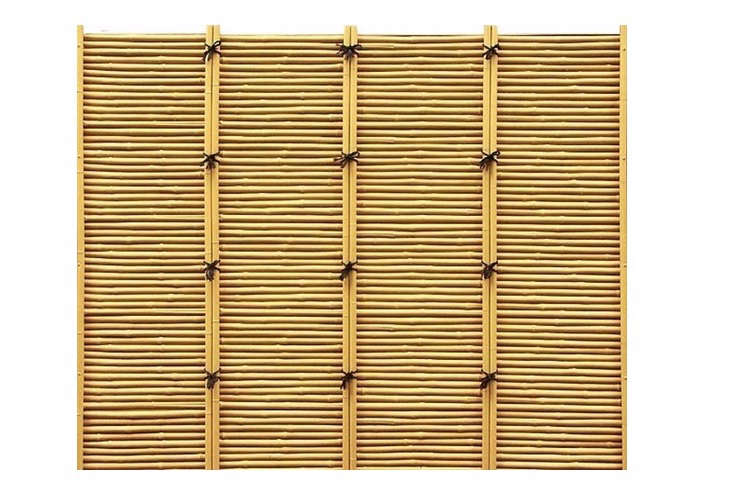 Tied Bamboo Fence Panel
