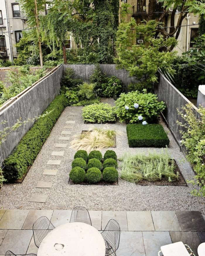 Great Designer Susan Welti Of Foras Studio Organized This Compact Brooklyn Garden  Into Pleasing Geometric Plan.