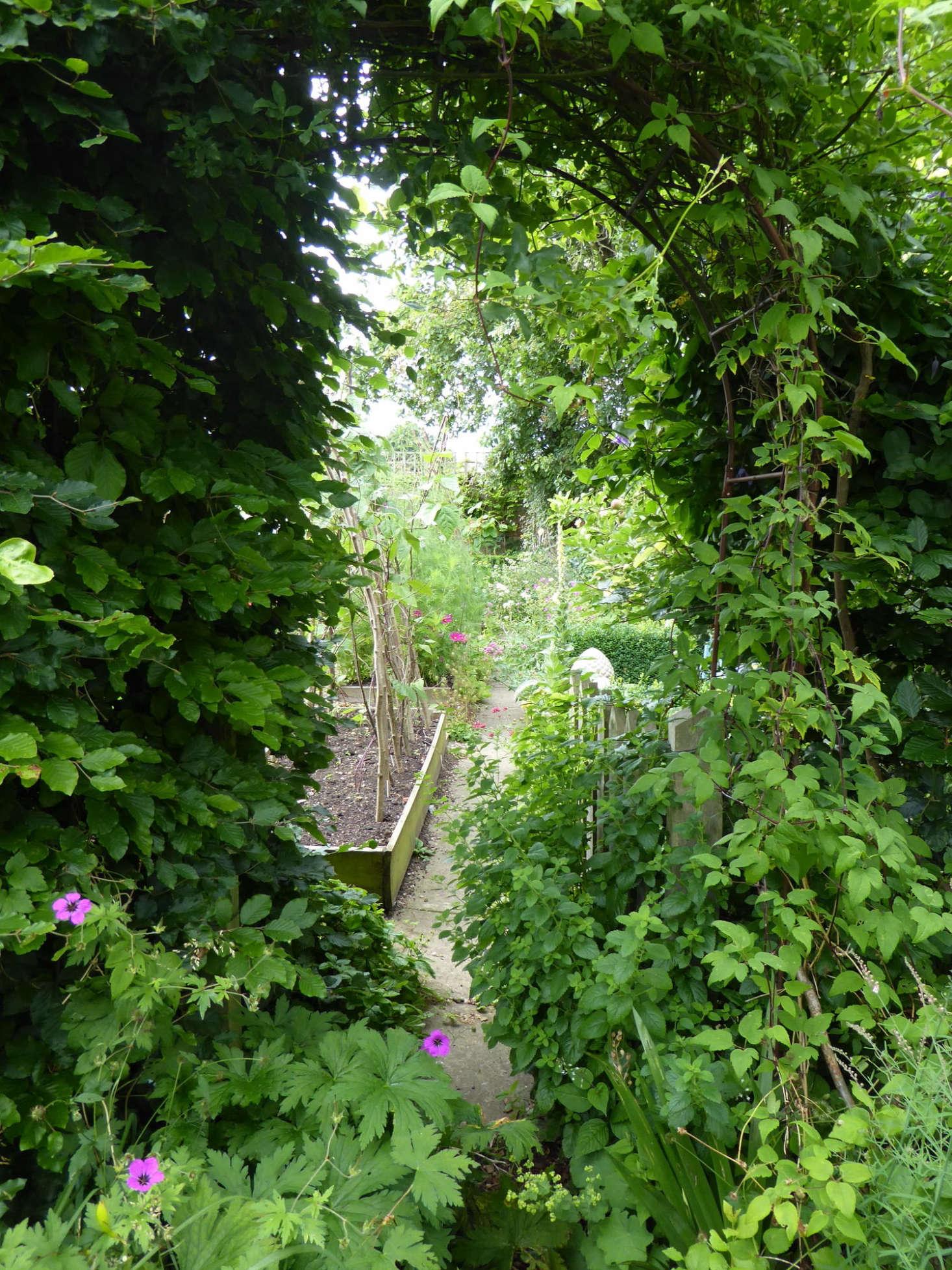 Archway Entrance to Kitchen Garden