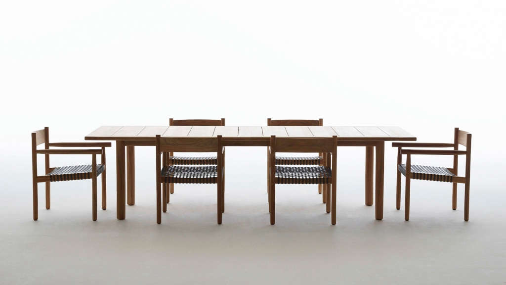Barber And Osgerby Dedon Tibbo Table And Chairs