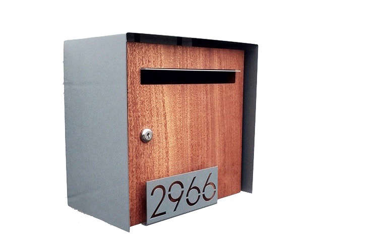House numbers henry wall mount mailbox deusmodern