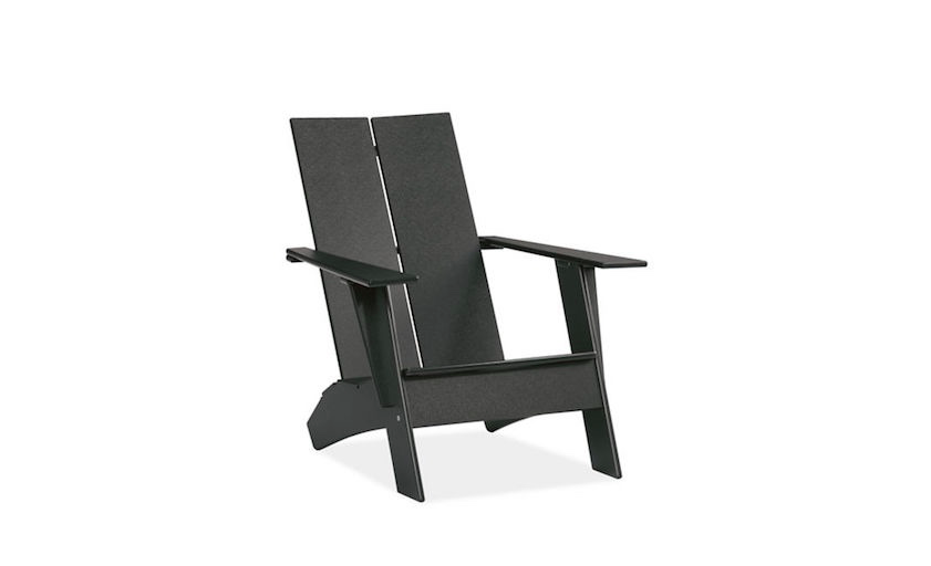 Attrayant An Emmet Lounge Chair Is Made Of Recycled Plastic, Comes In Eight Colors  Including Black