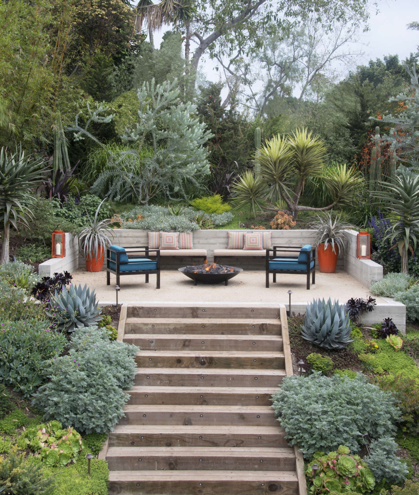 Image of: Landscape Design 10 Tips For Adding A Fire Pit From Judy Kameon Gardenista