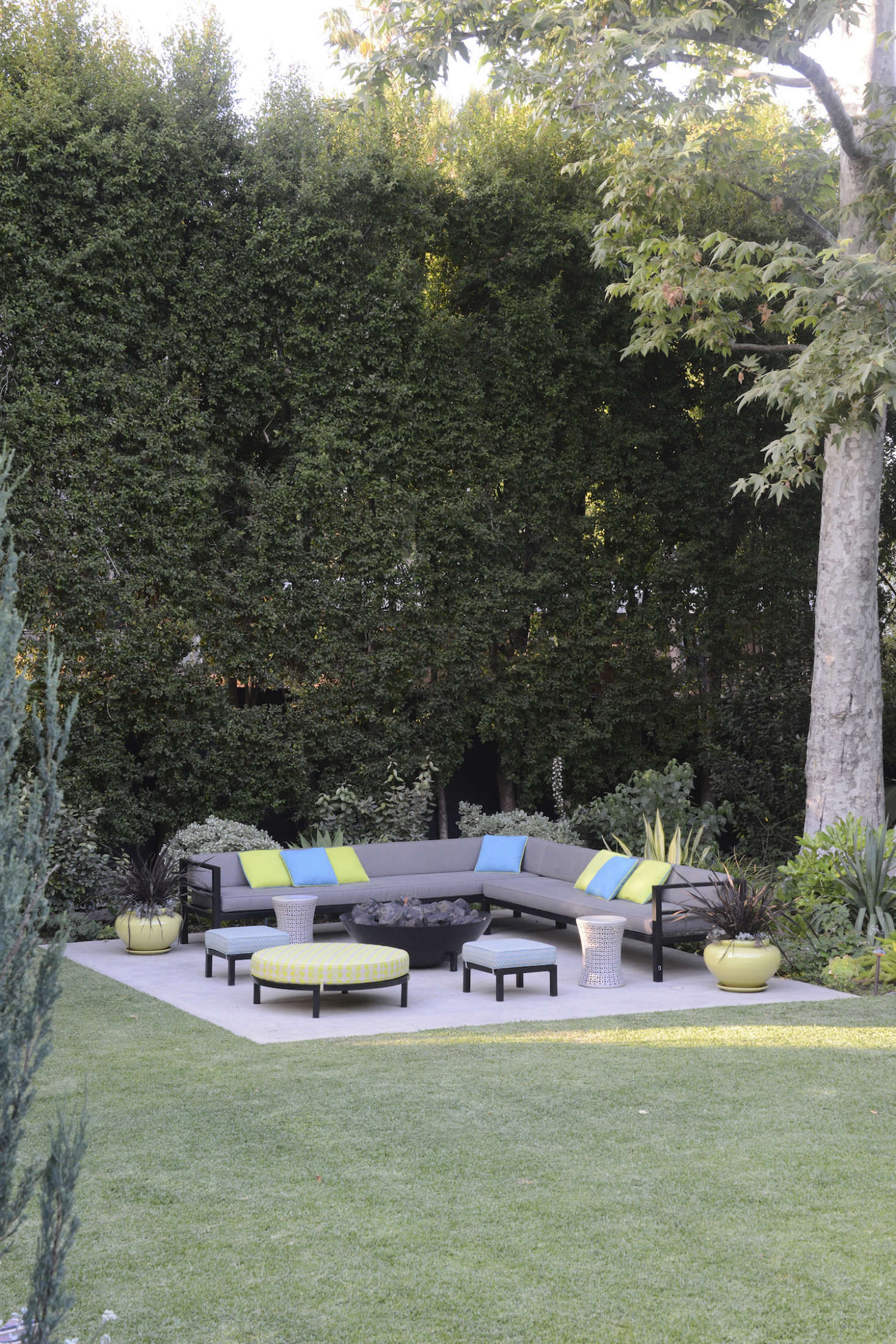 Landscape Design 10 Tips For Adding A Fire Pit From Judy Kameon Gardenista