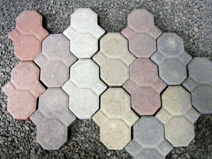 trend alert: colorful concrete pavers - gardenista