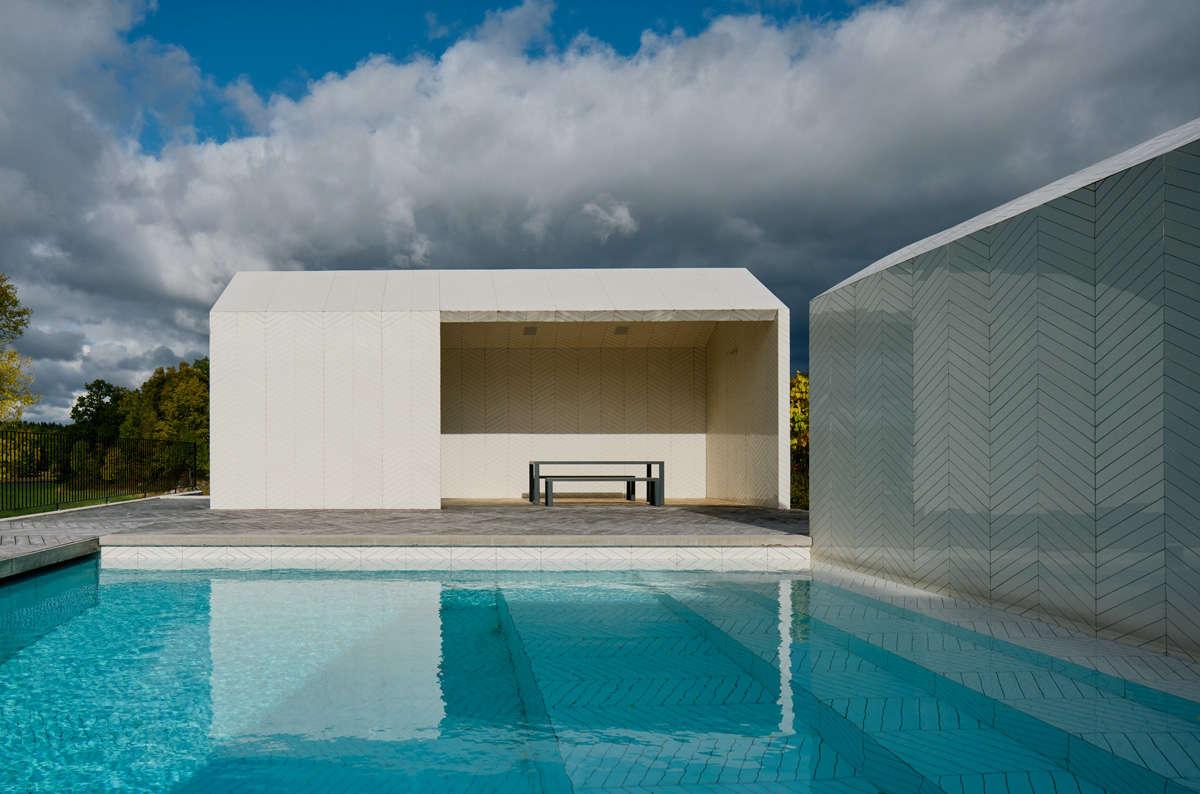 Swimming Pool of the Week: Claesson Koivisto Rune\'s Swedish Parquet ...