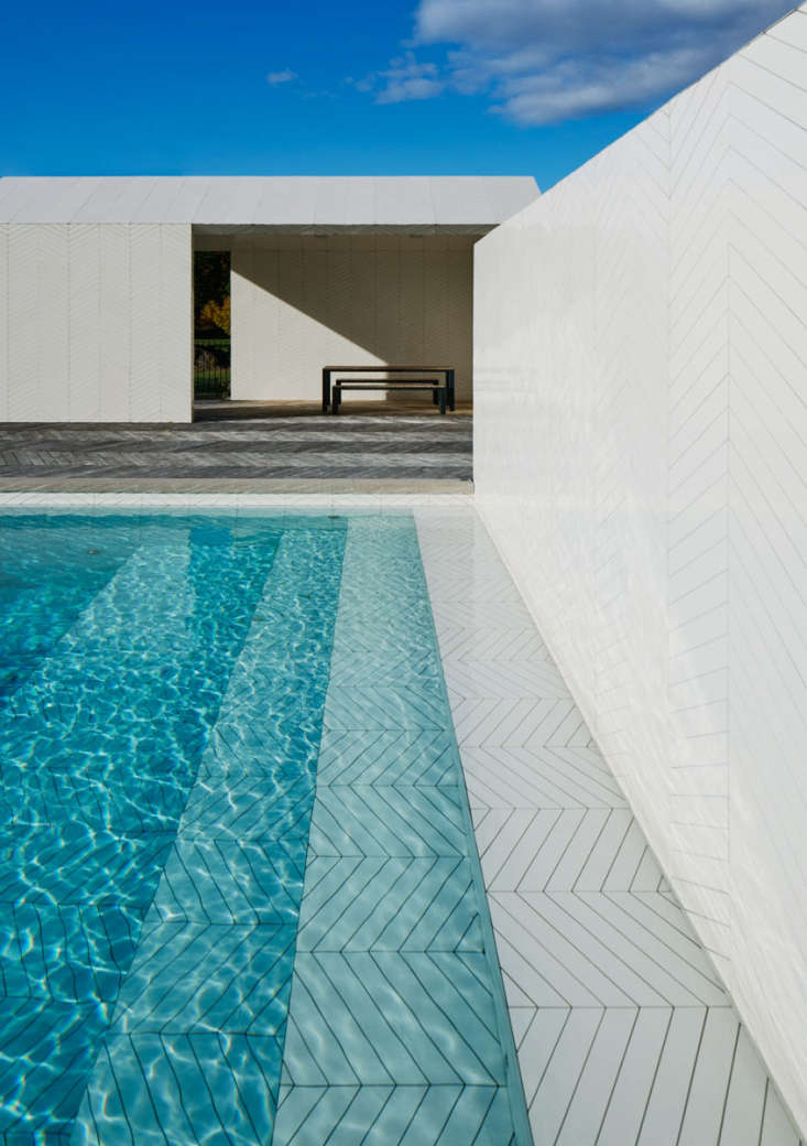 Swimming Pool Of The Week Claesson Koivisto Rune 39 S Swedish Parquet Poolhouse Gardenista