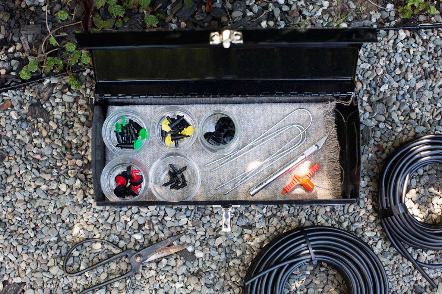 Drip Irrigation Emergency Repair Kit Essentials Gardenista