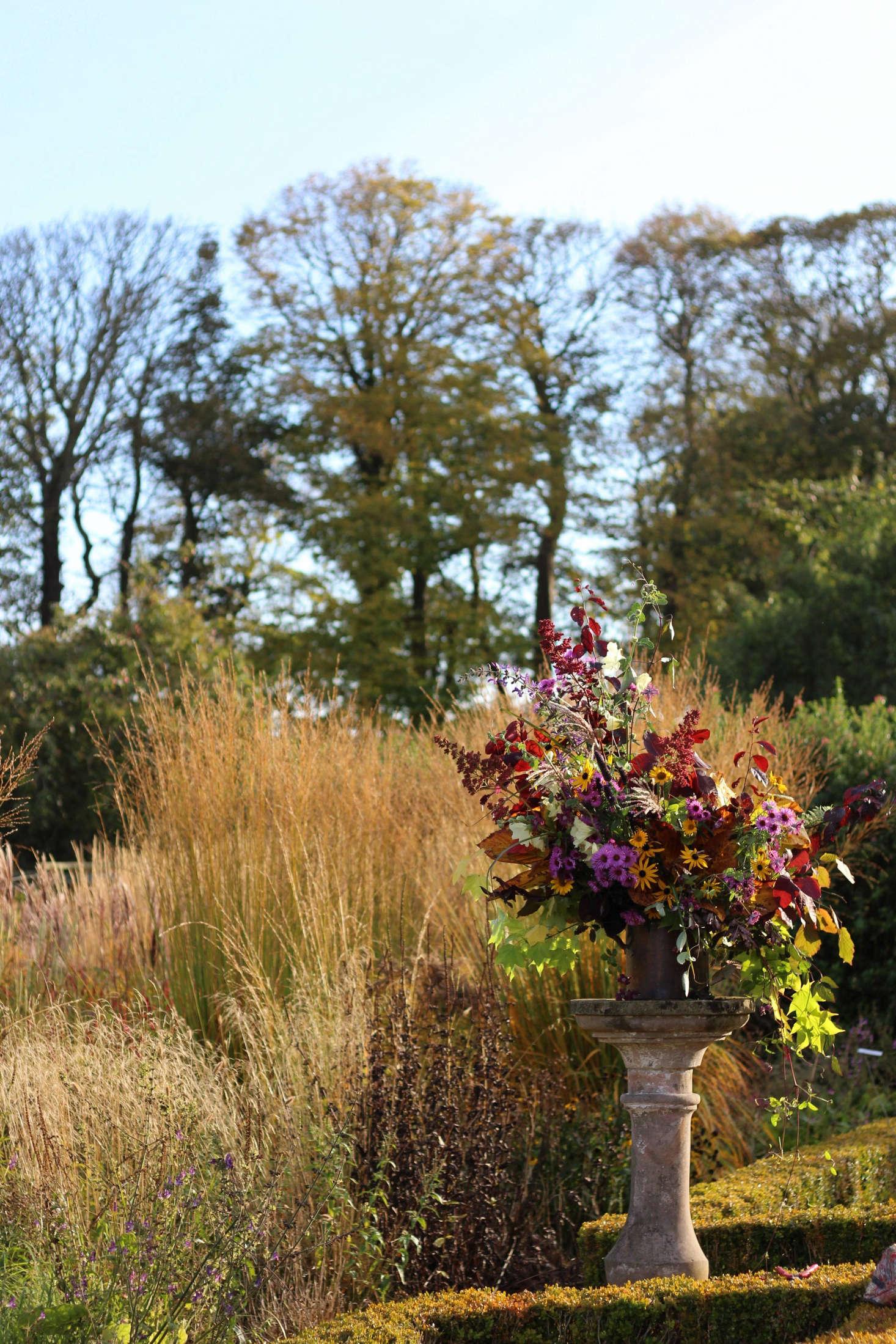Flower Design: A Week at the Cambo Estate in Scotland - Gardenista
