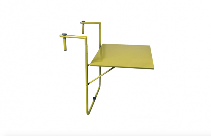 Balcony Table Railing Planter Shelf Hooks U0026 Lattice