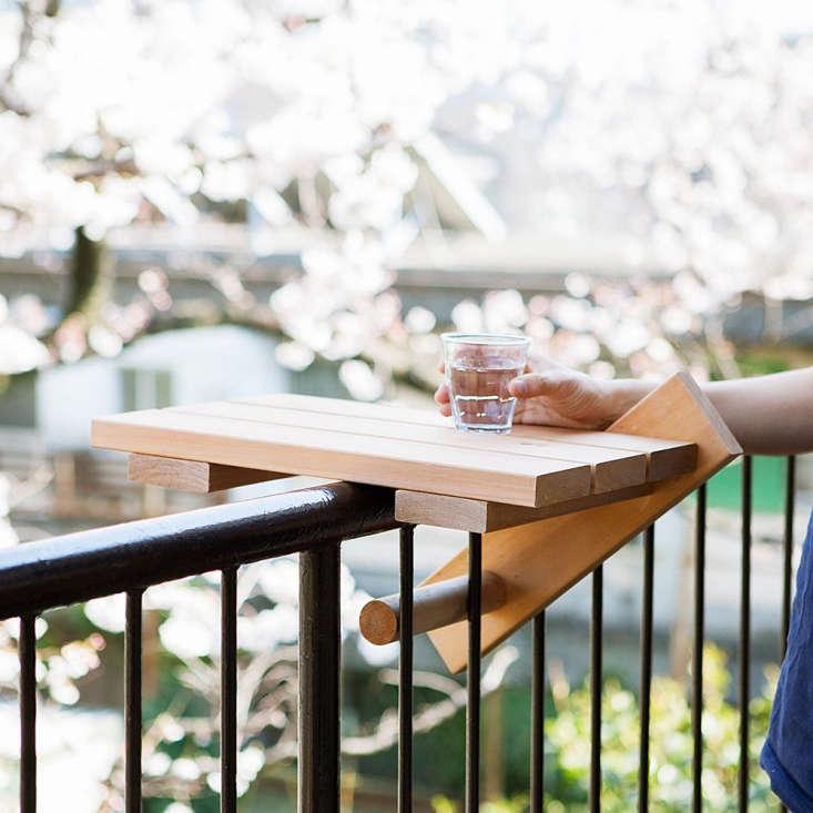 Great Balcony Table Skydeck By Ishinomaki Laboratory