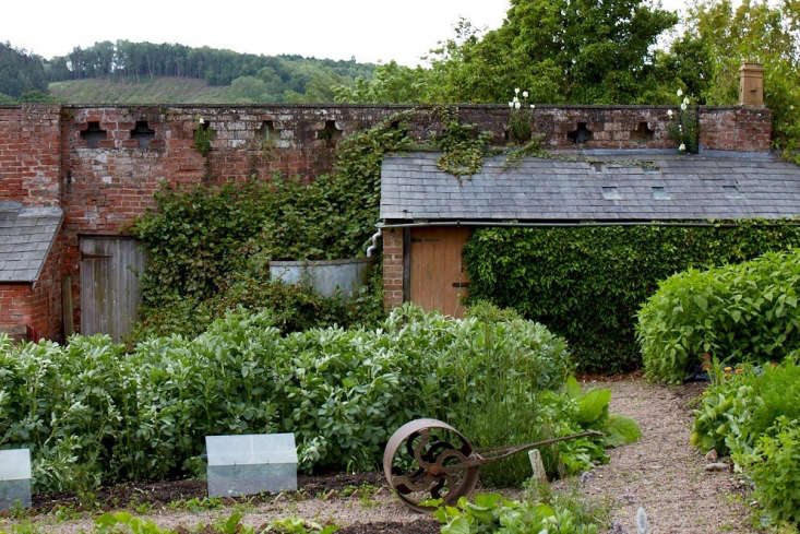 Old Lands Wales walled garden by Britt Willoughby Dyer