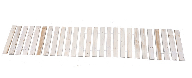 Measuring 17.5 Inches Wide By 94 Inches Long, A White Cedar Garden Walkway  Is $35