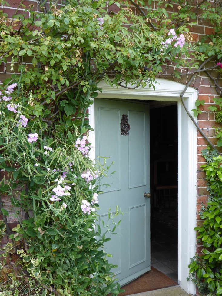 English cottage garden doorway by Clare Coulson
