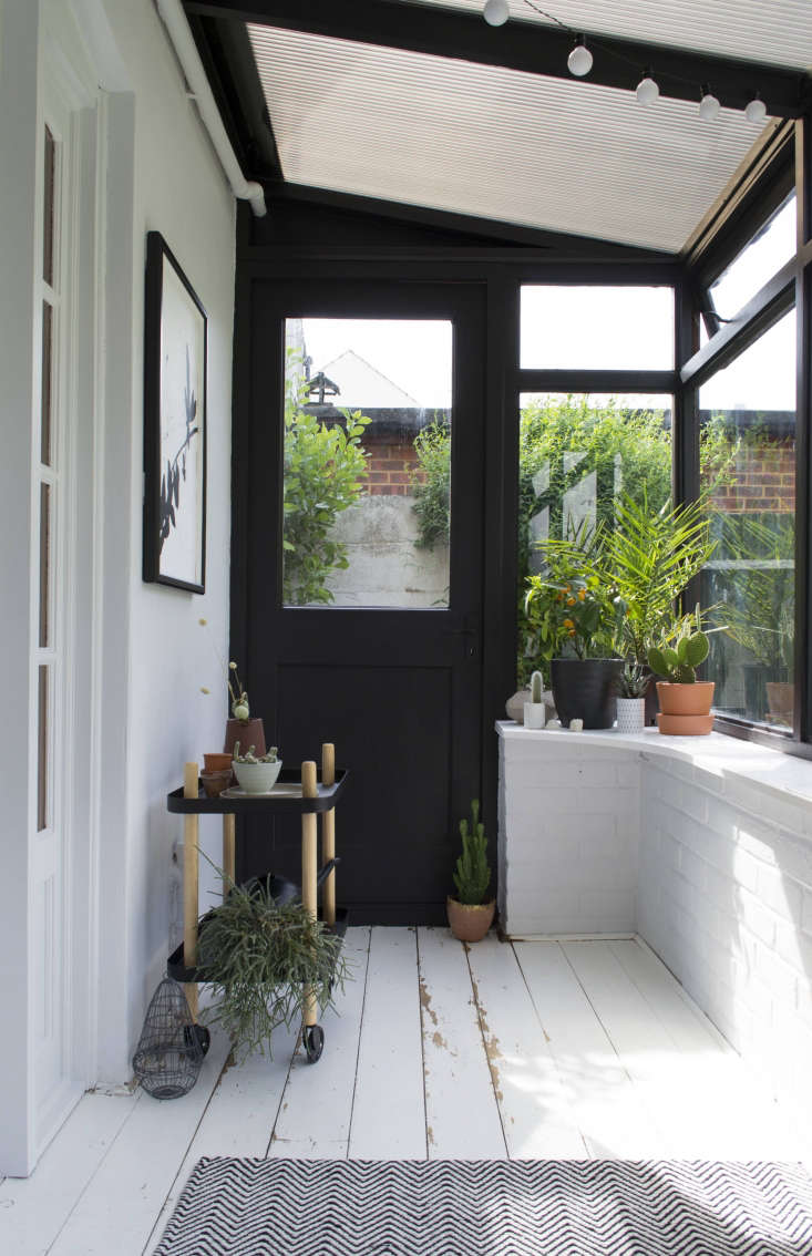sunroom makeover before and after by Tiffany Grant-Riley