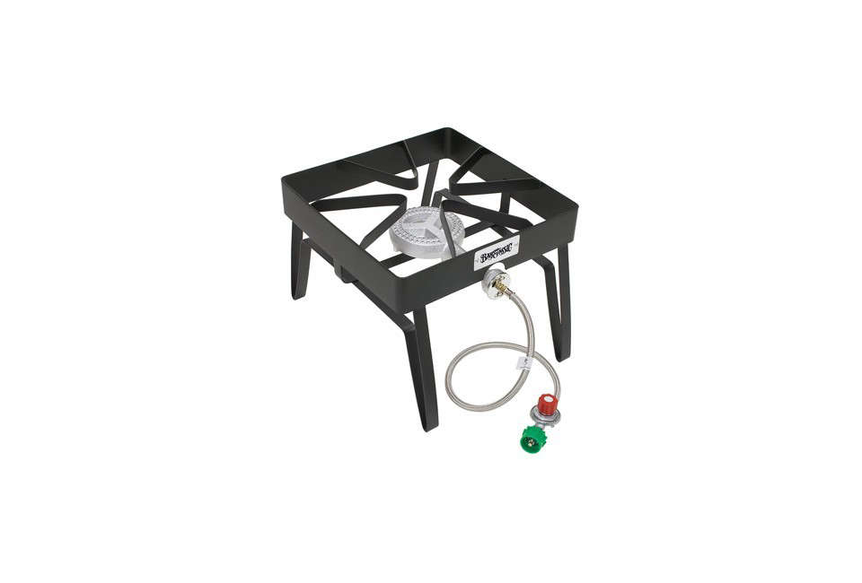 The Bayou Classic Barbour International SQ14 Outdoor Patio Stove Is Made Of  Steel, Can Accommodate