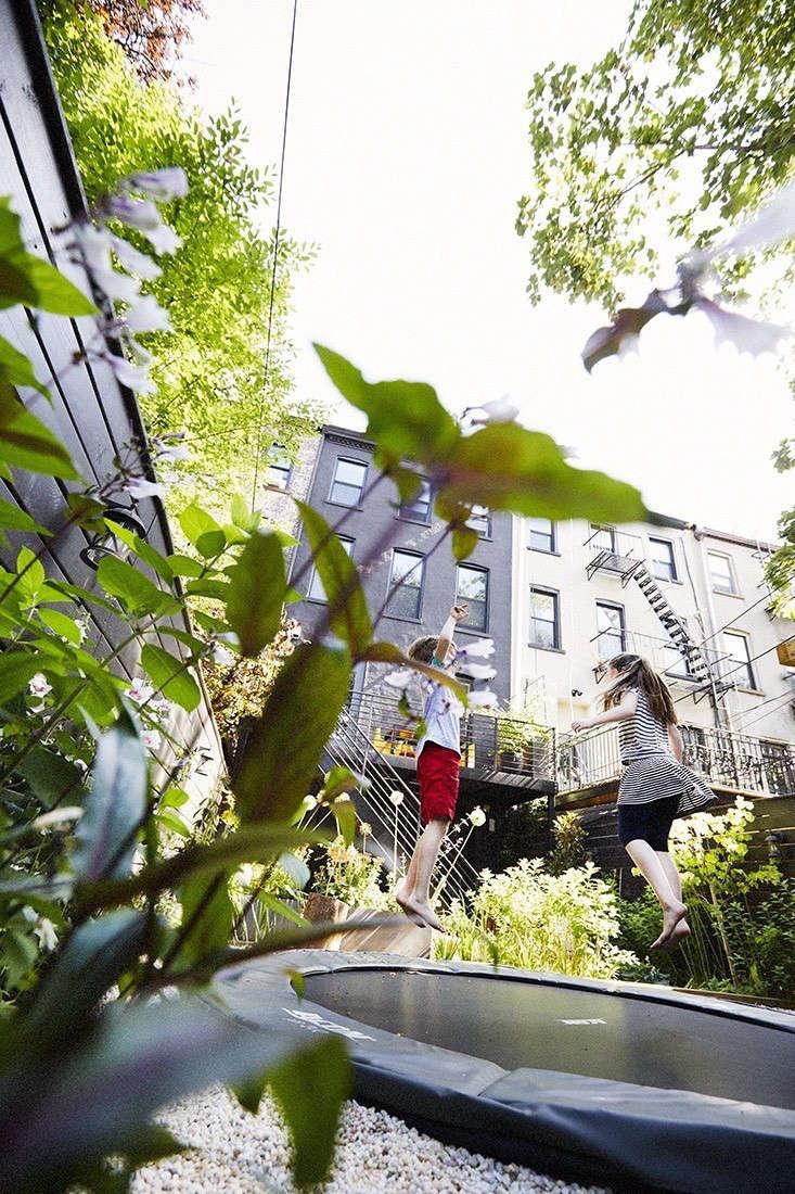 best outdoor living space 2017 a brooklyn backyard in black by