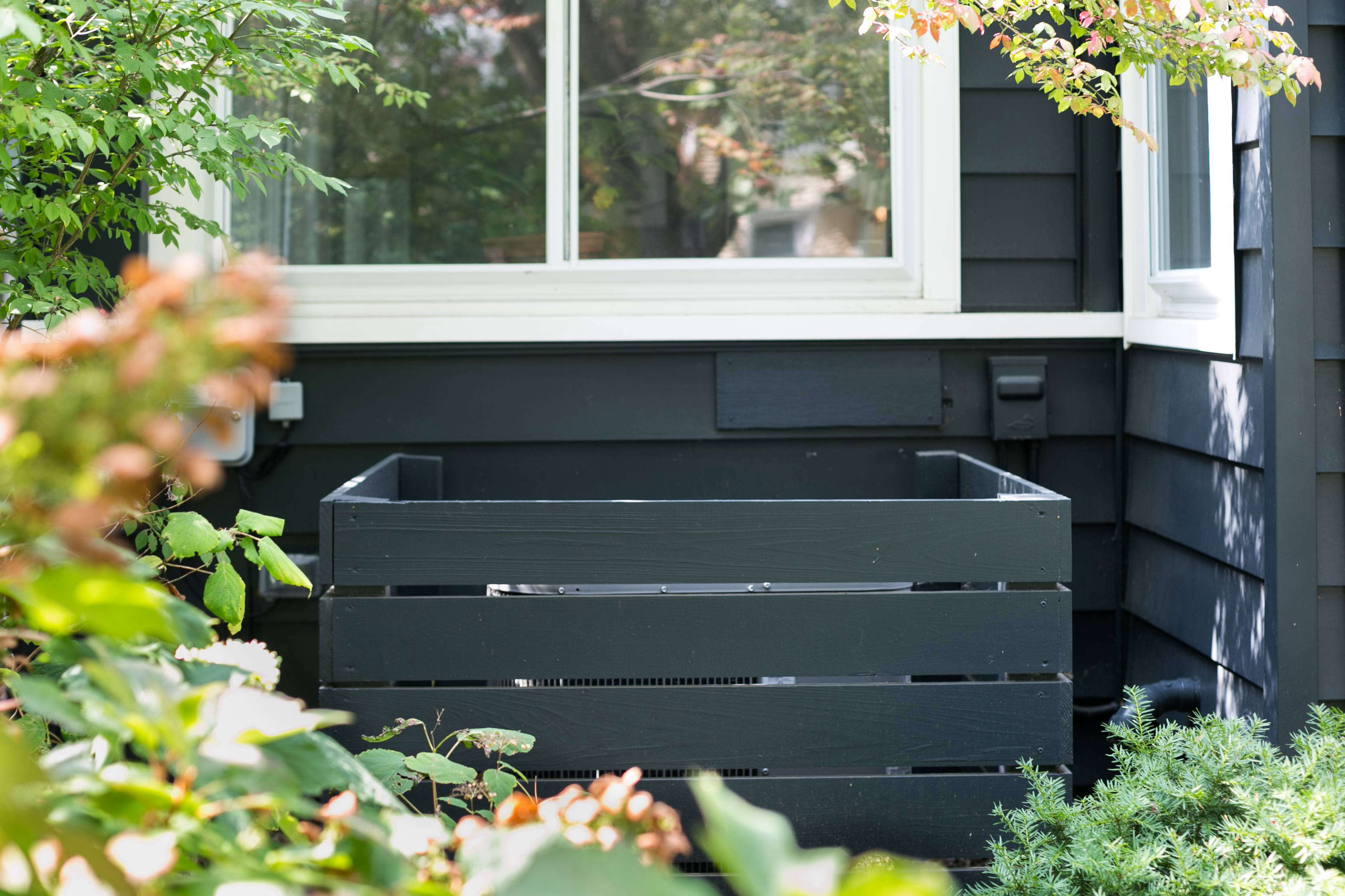 Garden Hacks Genius Ideas Hide The Air Conditioner Gardenista