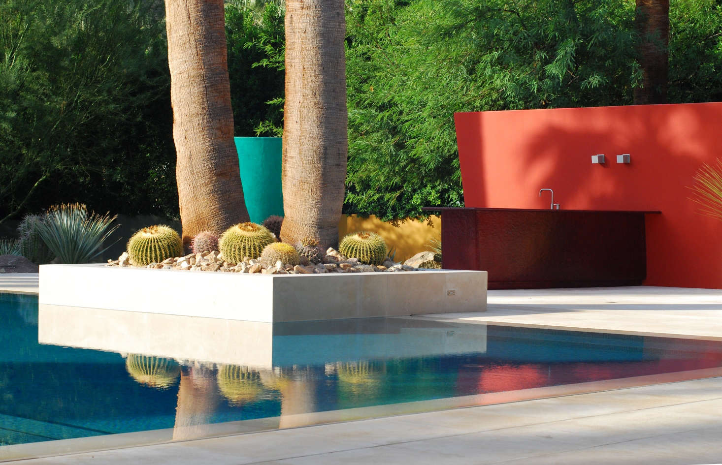 Required reading the mid century modern garden by ethne - Swimming pool lighting requirements ...