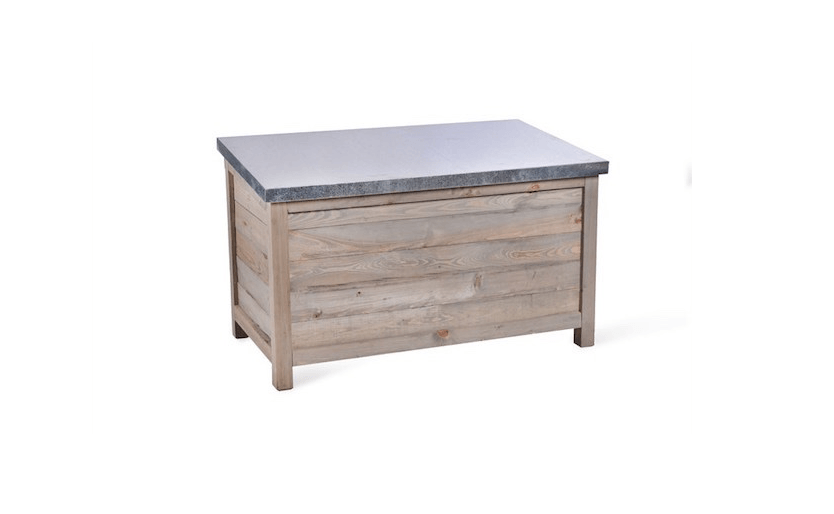 Garden Tradingu0027s Aldsworth Outdoor Storage Box is made of spruce and has a slanted weatherproof  sc 1 st  Gardenista & 10 Easy Pieces: Outdoor Storage Benches - Gardenista