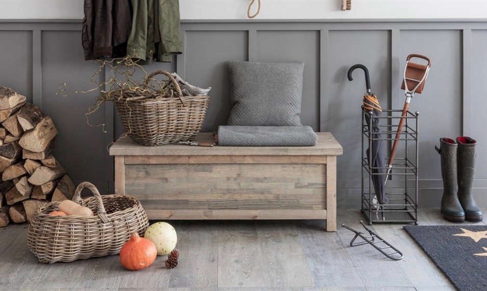 An Outdoor Storage Bench Is A Solution To Many Problems. In Addition To  Hiding Your Sins (or At Least Your Muddy Boots), It Can Double As A Coffee  Table, ...