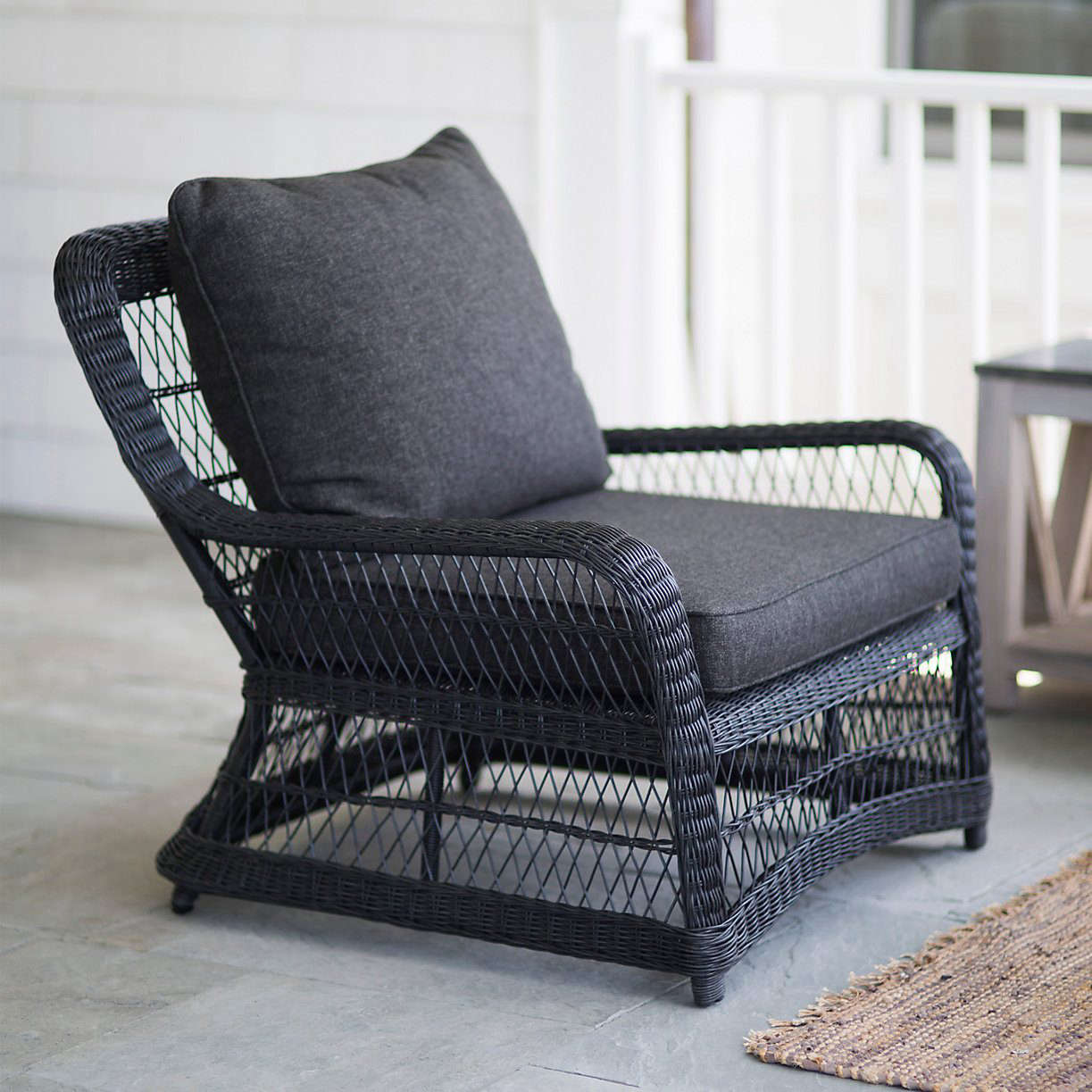 object of desire classic black wicker furniture gardenista